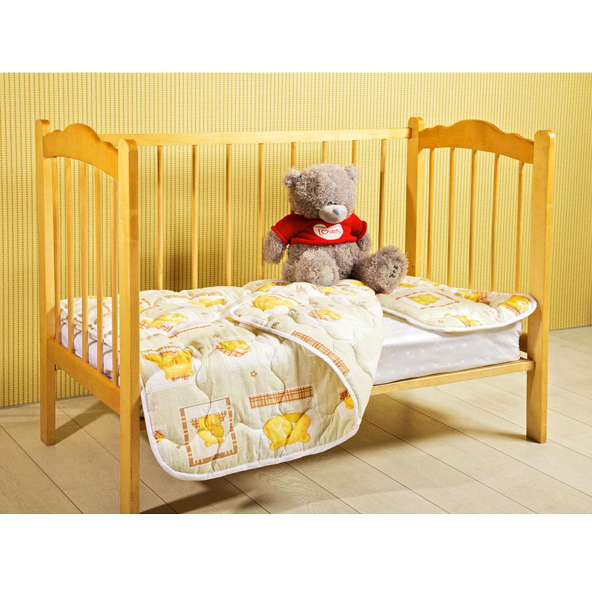Одеяло детское Primavelle Fani, стеганое, цвет: бежевый, 110 см х 140 см123110307-10