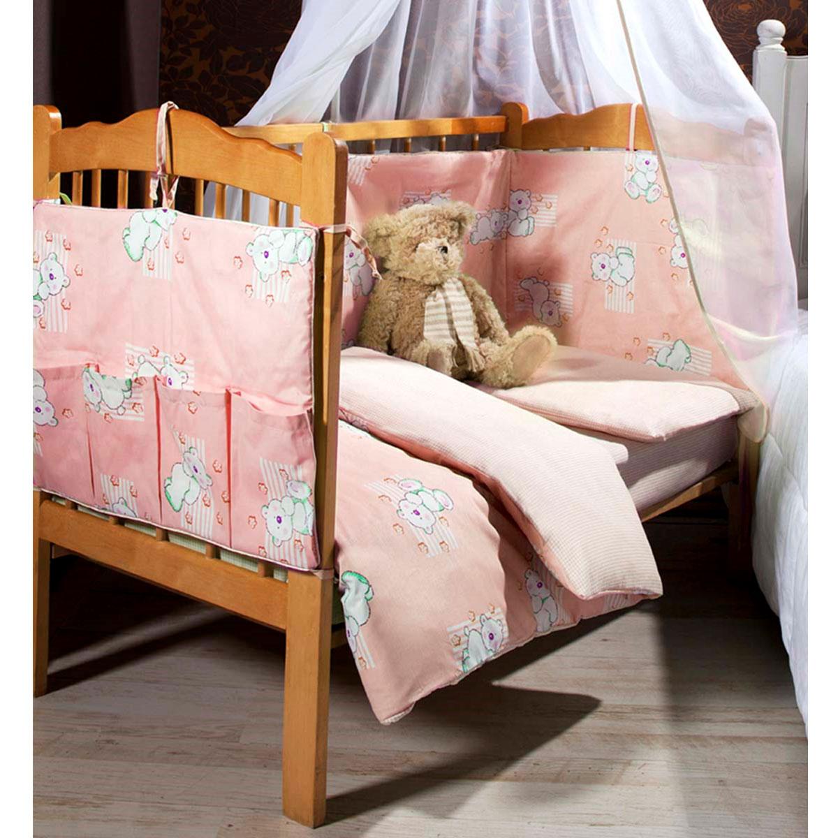 Детское постельное белье Primavelle Dreammy (ясельный спальный КПБ, хлопок, наволочка 42х62), цвет: розовый115124260-26Детское постельное белье Primavelle Dreammy прекрасно подойдет для вашего малыша. Текстиль произведен из 100% хлопка. При нанесении рисунка используются безопасные натуральные красители, не вызывающие аллергии. Гладкая структура делает ткань приятной на ощупь, она прочная и хорошо сохраняет форму, мало мнется и устойчива к частым стиркам. Комплект состоит из наволочки, простыни и пододеяльника. Яркий рисунок непременно понравится вашему ребенку. В комплект входят: Пододеяльник - 1 шт. Размер: 145 см х 115 см. Простыня - 1 шт. Размер: 180 см х 120 см. Наволочка - 1 шт. Размер: 42 см х 62 см.