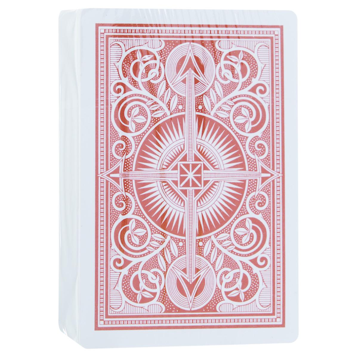Игральные карты Kem Arrow, цвет: красный, 54 штKEM_RED