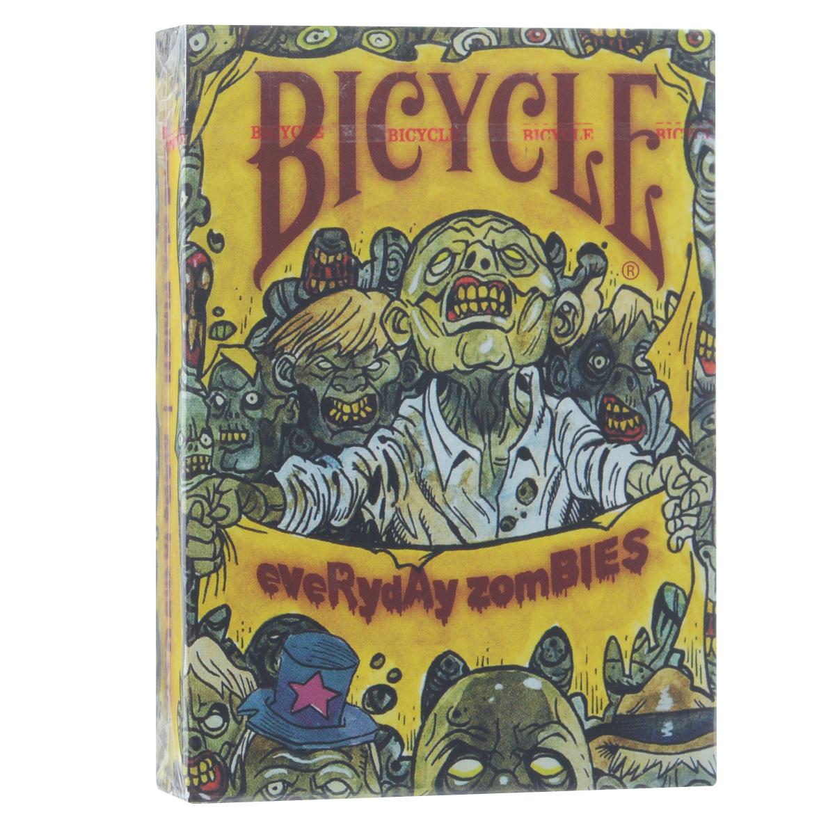 Карты игральные коллекционные Bicycle Everyday Zombie, 54 штBICYCLE_EVERY_ZOMBIE