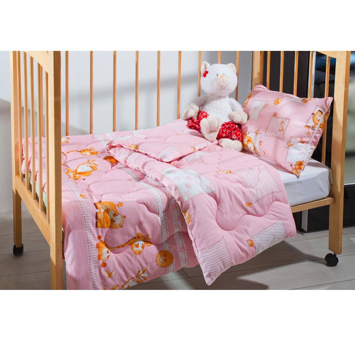 Одеяло детское Подушкино Лежебока, стеганое, цвет: розовый, 110 см х 140 см121012030-ФИДетское стеганое одеяло Подушкино Лежебока изготовлено из натурального хлопка. Такое одеяло будет бережно хранить безмятежный сон вашего ребенка. Наполнитель одеяла состоит из экофайбера. Легкие и теплые изделия с этим наполнителем не вызывают аллергии, легко стираются, быстро высыхают и сохраняют свои свойства после длительной эксплуатации. Одеяло с таким наполнителем - это атрибут здорового сна и полноценного отдыха! Детское одеяло Подушкино Лежебока - лучший выбор для тех, кто стремится проявить заботу о своем ребенке.