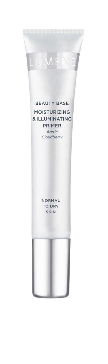 LUMENE Увлажняющая база для макияжа лица с эффектом сияния, 20 мл