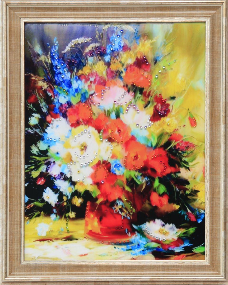 1624 Картина Сваровски Натюрморт с Люпином1624стекло, хрусталь, пластик. 36,7х46,7