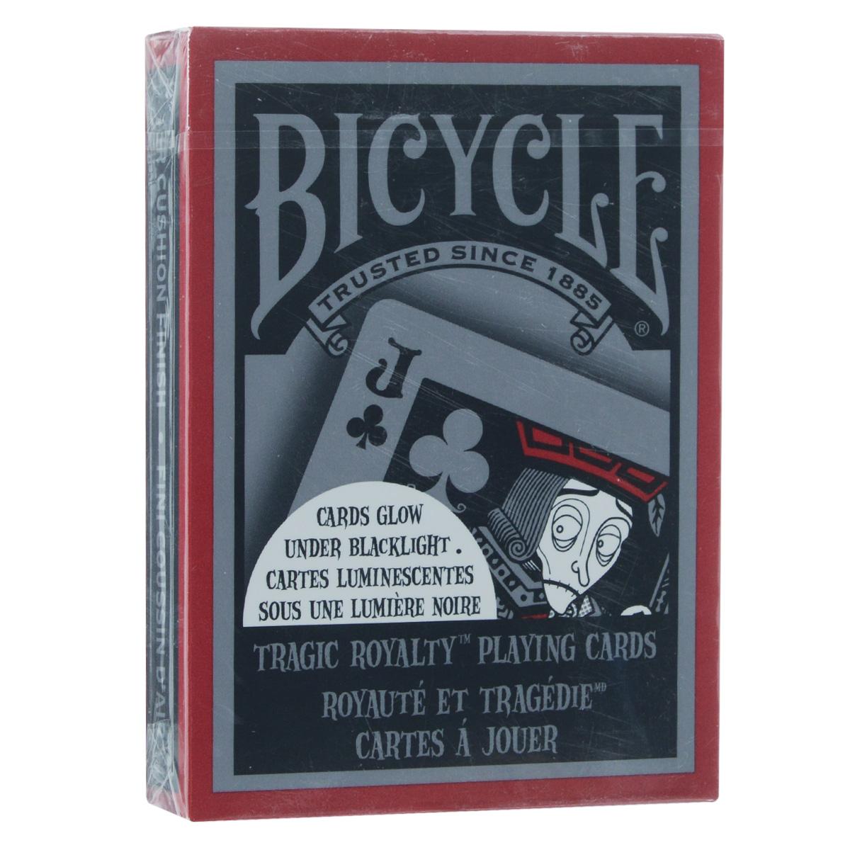 Карты игральные коллекционные Bicycle Tragic Royalty, 54 штBICYCLE_TRAGIC
