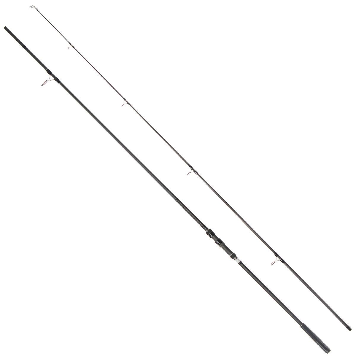 Удилище карповое Daiwa Windcast Carp, 3,6 м, 3,5 lbs0031547Daiwa Windcast Carp - это высококлассное карповое удилище с феноменальными рабочими характеристиками. Особенности удилища: Бланки из высокомодульного графита обеспечивают высокую чувствительность и мощность. Армирующая графитовая оплетка по всей длине. Надежный катушкодержатель от Fuji Пропускные кольца со вставками Sic. Флуоресцентная полоска с подсветкой специально для ночной ловли. Поставляется в чехле для переноски и хранения. Тест: 3,5 lbs.