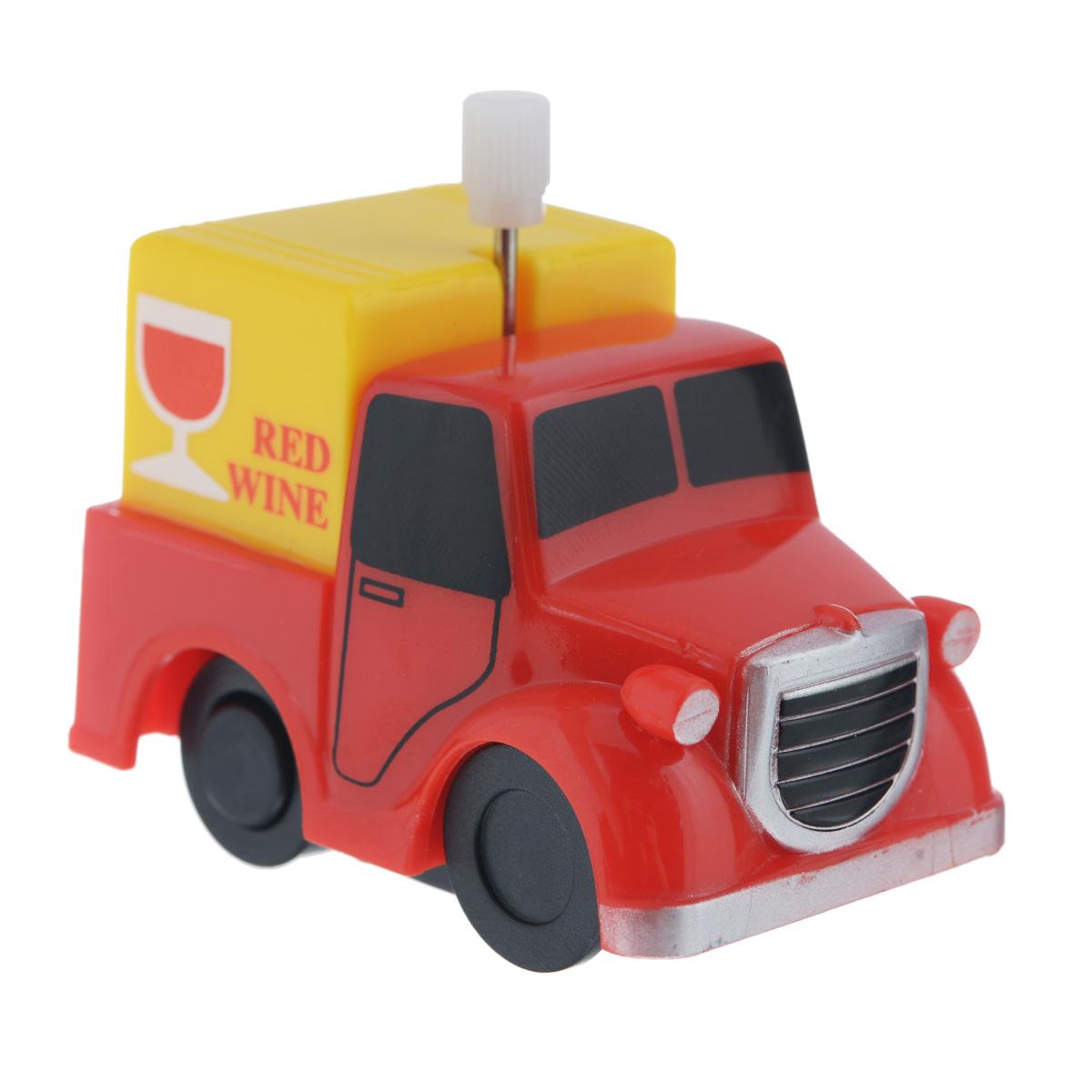 Игрушка заводная Грузовичок Red Wine2K-012BD_ Red WineИгрушка Hans Грузовичок Red Wine привлечет внимание вашего малыша и не позволит ему скучать! Выполненная из безопасного пластика, игрушка представляет собой грузовичок. Игрушка имеет механический завод. Для запуска, придерживая колеса, поверните заводной ключ по часовой стрелке до упора. Установите игрушку на поверхность и она поедет вперед. Заводная игрушка Hans Грузовичок Red Wine поможет ребенку в развитии воображения, мелкой моторики рук, концентрации внимания и цветового восприятия.