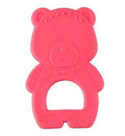 Happy Baby Прорезыватель Мишка 20005 Pink