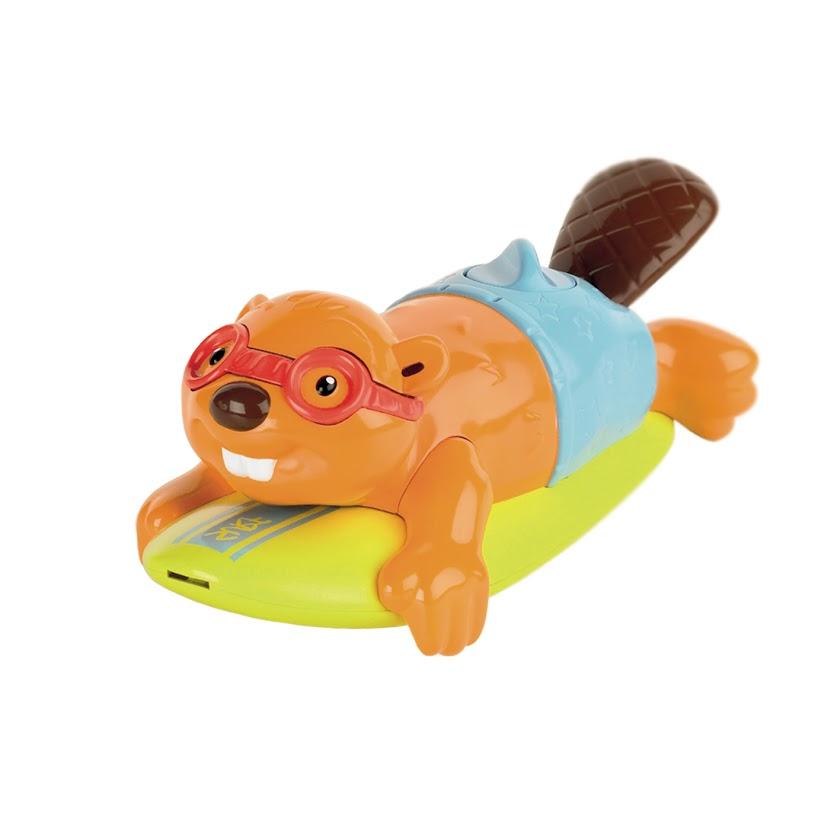 Развивающая игрушка для ванной Tomy Бобер-серфингист
