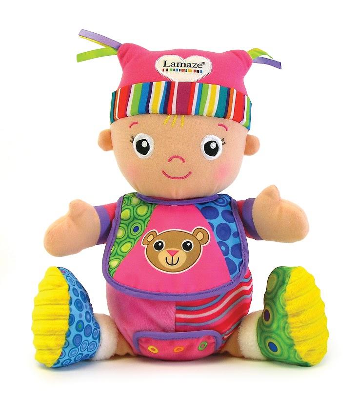 Мягкая развивающая игрушка Lamaze Моя Первая Кукла Маша, 25 см