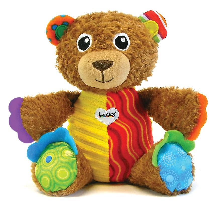 Мягкая развивающая игрушка Lamaze Мой Первый Плюшевый Медвежонок, цвет: коричневый, 28 смLC27160RUМой Первый Плюшевый Медвежонок - это удивительная развивающая игрушка. Необычный насыщенный колорит и сочетание контрастных цветов сразу же привлекут внимание крохи. Мишка такой дружелюбный и уютный, что его тут же хочется взять на ручки, потрогать и погладить. Игрушка забавно пищит при нажатии на нижние лапы и дарит море удовольствий ребенку при играх с ним. Игрушка изготовлена из абсолютно безвредных материалов, рекомендована малышам с самого рождения. Игрушка способствует развитию первичных навыков внимательности, наблюдательности, мелкой моторики, повышению коэффициента эмоциональности (вызывает улыбку и смех) и познания в целом, вырабатывает у малыша реакцию на звук.