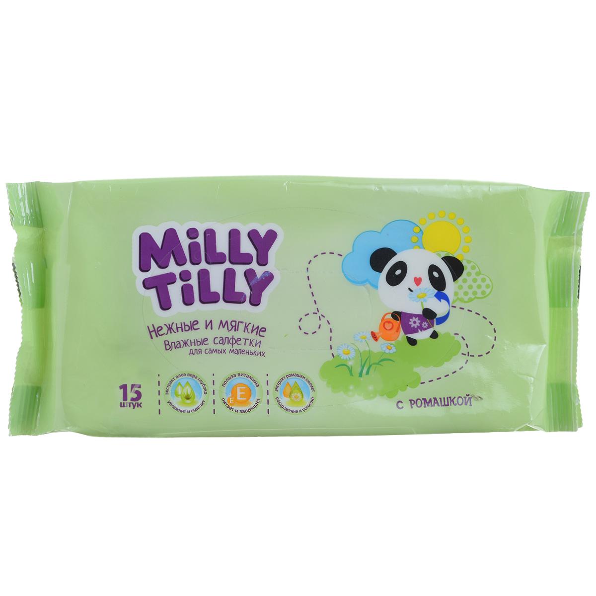 Milly Tilly Влажные салфетки