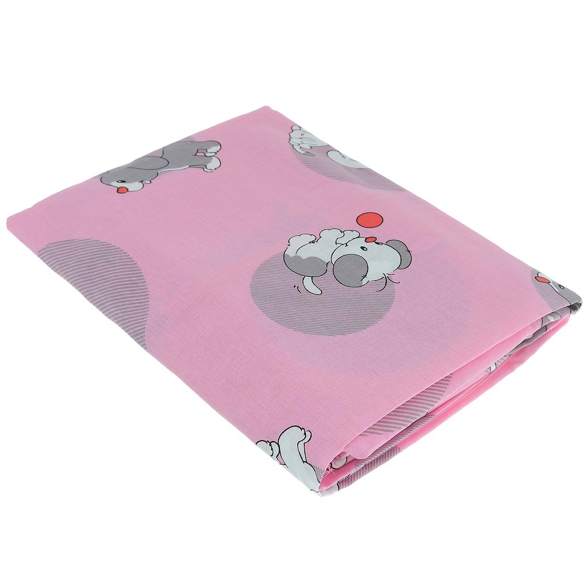 Комплект детского постельного белья Фея Наши друзья, цвет: розовый, 3 предмета1060-2Детский комплект постельного белья Фея Наши друзья состоит из наволочки, пододеяльника и простыни на резинке. Такой комплект идеально подойдет для кроватки вашего малыша и обеспечит ему здоровый сон. Он изготовлен из натурального 100% хлопка, дарящего малышу непревзойденную мягкость. Натуральный материал не раздражает даже самую нежную и чувствительную кожу ребенка, обеспечивая ему наибольший комфорт. Простыня с помощью специальной резинки растягивается на матрасе. Она не сомнется и не скомкается, как бы не вертелся ребенок. Приятный рисунок комплекта, несомненно, понравится малышу и привлечет его внимание. На постельном белье Фея Наши друзья ваша кроха будет спать здоровым и крепким сном.