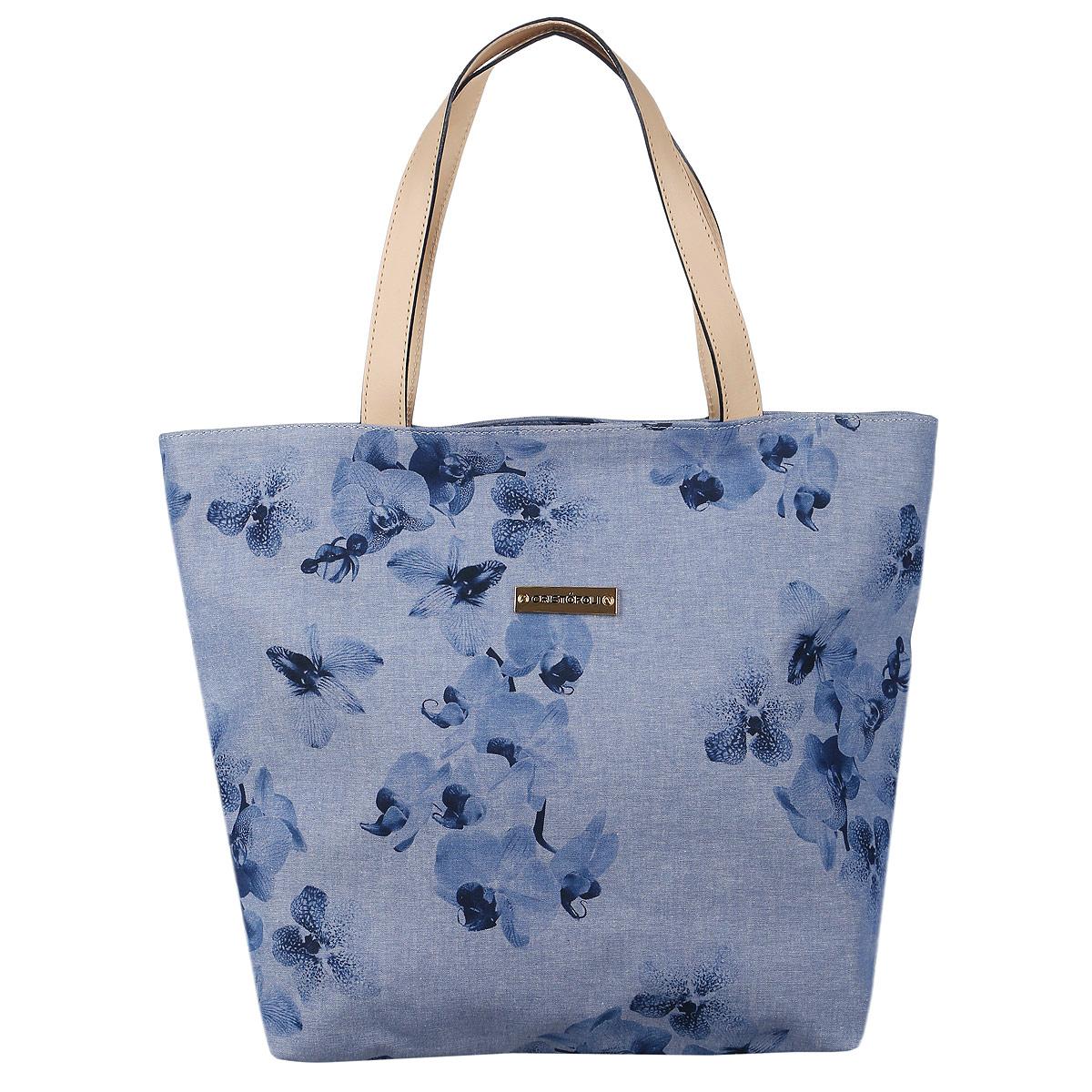 Сумка женская Cristofoli, цвет: синий. 215001215001_синийИзысканная женская сумка Cristofoli выполнена из высококачественного текстиля. Сумка закрывается на металлическую застежку-молнию. Внутри - большое отделение и открытый накладной карман для мелочей. Эта оригинальная сумка внесет элегантные нотки в ваш образ и подчеркнет ваше отменное чувство стиля.