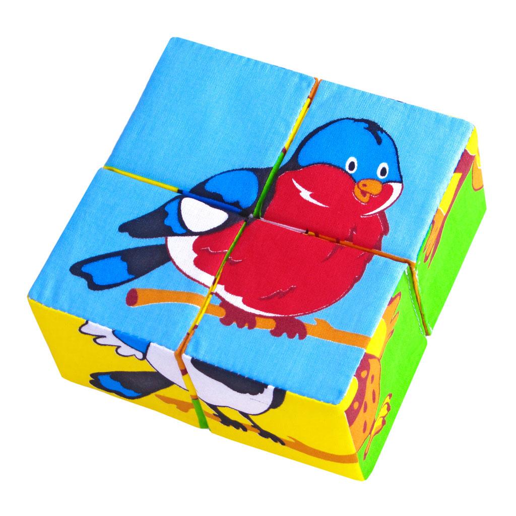 Мякиши Развивающая игрушка Собери картинку Птицы ( 239 )