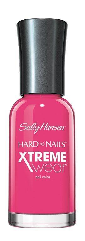 Sally Hansen Xtreme Wear Лак для ногтей тон 165 pink punk, 11,8 мл30535427165Компания Sally Hansen предлагает своим клиентам лак для ногтей Hard As Nails Xtreme Wear Nail Color в ассортименте. Продукт оказывает укрепляющее и увлажняющее воздействие, насыщает питательными веществами, отличается особой стойкостью. Средство равномерно распределяется по поверхности ногтевой пластины, быстро высыхает, не скалывается и не отслаивается. В коллекции представлено большое разнообразие смелых и изысканных цветов, которые позволят создать элегантный маникюр.