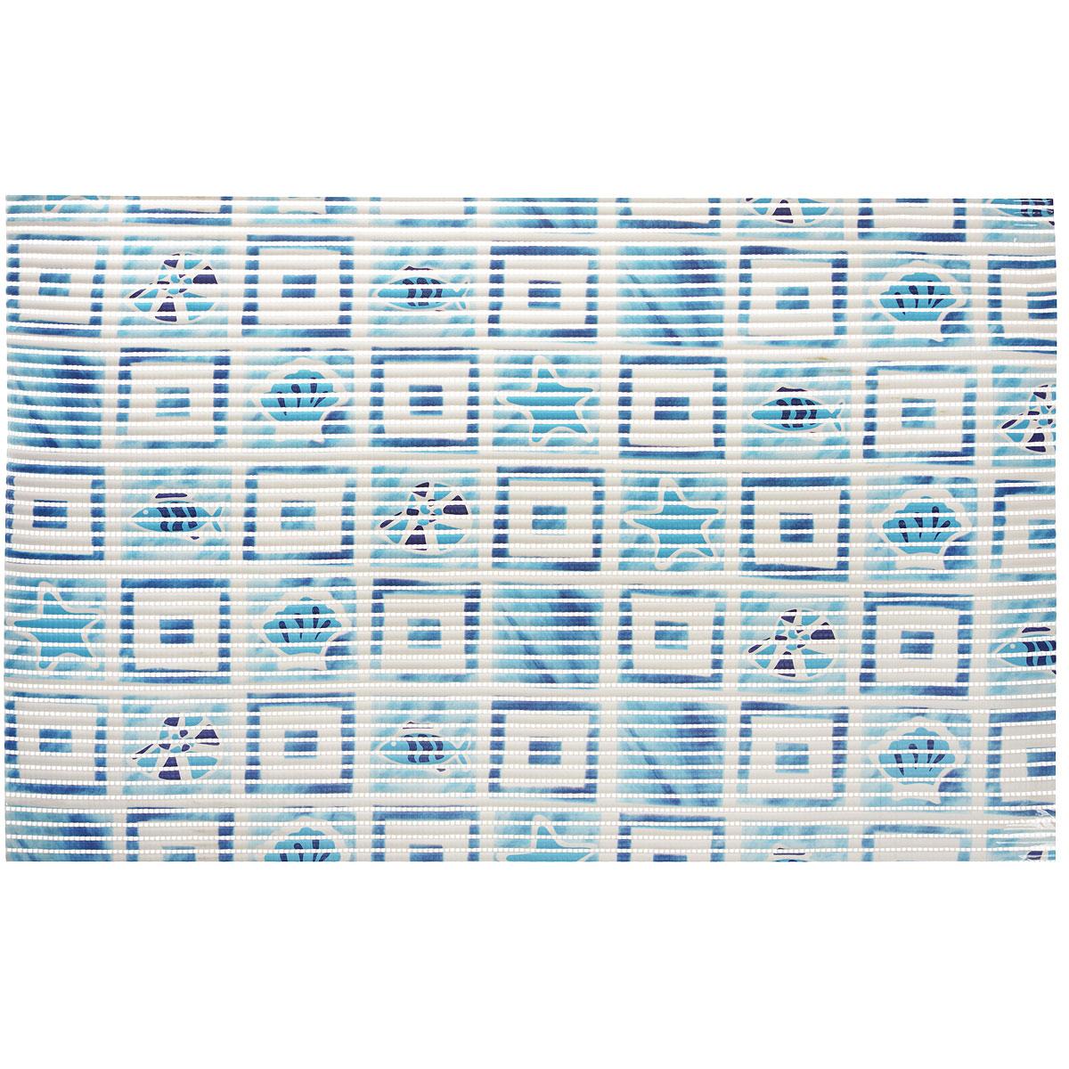 Коврик для ванной Fresh Code Flexy, цвет: голубой, 50 х 80 см56292_голубойКоврик для ванной Fresh Code Flexy изготовлен из вспененного ПВХ. Он абсолютно гигиеничен, не вызывает аллергию и полностью исключают образование плесени и сырости. Отличается высокой прочностью, обладает теплоизолирующими свойствами и противоскользящим эффектом. Размер коврика: 50 см х 80 см.
