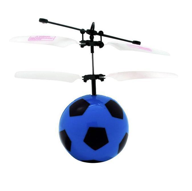 Balbi Минифлаер на радиоуправлении Футбольный мяч цвет черныйFB-001-B