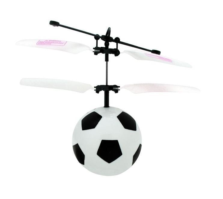 Balbi Минифлаер на радиоуправлении Футбольный мяч цвет белыйFB-001-W