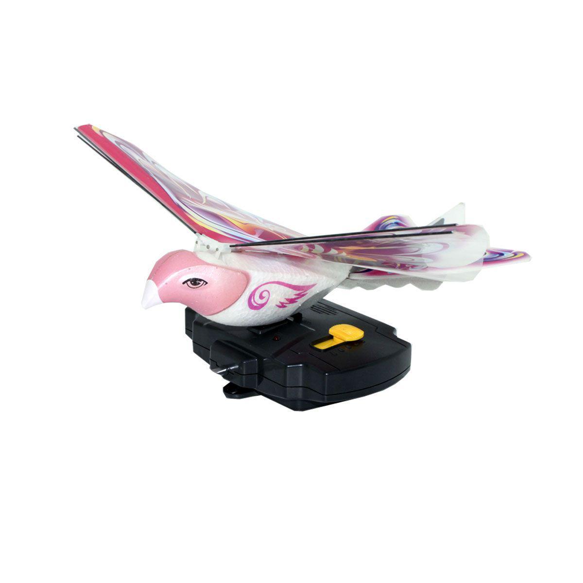 Balbi Игрушка на радиоуправлении Летающая птица цвет розовый ( EB-001-R )