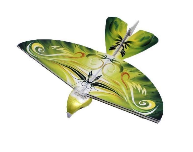 Balbi Игрушка на радиоуправлении Летающая птица цвет зеленыйEB-001-G