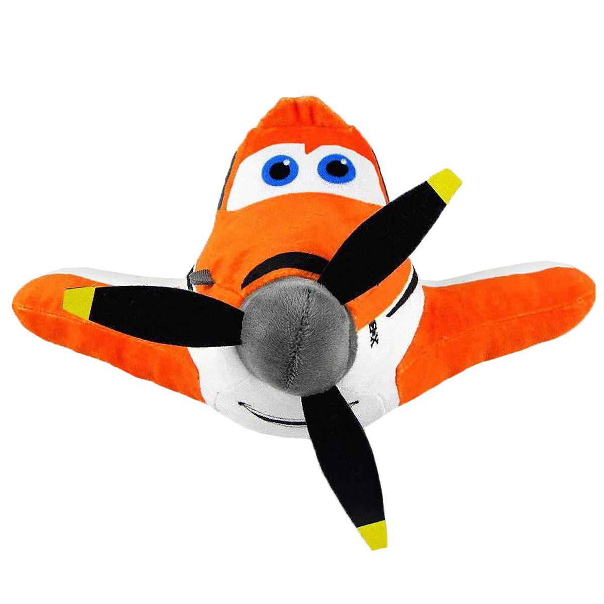Мягкая игрушка Disney Дасти, цвет: оранжевый, 25 см1200208Очаровательная мягкая игрушка Дасти, выполненная в виде героя нового популярного фильма Самолеты (Planes), вызовет умиление и улыбку у каждого, кто ее увидит. Она станет замечательным подарком, как ребенку, так и взрослому. Необычайно мягкая, она принесет радость и подарит своему обладателю мгновения нежных объятий и приятных воспоминаний. Мягкая игрушка Дасти выполнена из высококачественного текстиля и гипоаллергенного синтепона. Мягкая игрушка может стать милым подарком, а может быть и лучшим другом на все времена.