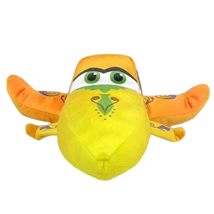Мягкая игрушка Disney Ишани, цвет: оранжевый, 25 см1200214Очаровательная мягкая игрушка Ишани, выполненная в виде героя нового популярного фильма Самолеты (Planes), вызовет умиление и улыбку у каждого, кто ее увидит. Она станет замечательным подарком, как ребенку, так и взрослому. Необычайно мягкая, она принесет радость и подарит своему обладателю мгновения нежных объятий и приятных воспоминаний. Игрушка изготовлена из высококачественных текстильных материалов и гипоаллергенного синтепона. Мягкая игрушка может стать милым подарком, а может быть и лучшим другом на все времена. Характеристики: Высота игрушки: 25 см. Материал игрушки: текстиль. Материал набивки: синтепон. Изготовитель: Китай.