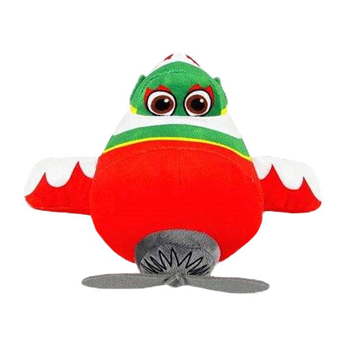 Мягкая игрушка Disney Эль Чу, цвет: красный, зелёный, 25 см1200210Очаровательная мягкая игрушка Эль Чу, выполненная в виде героя нового популярного фильма Самолеты (Planes), вызовет умиление и улыбку у каждого, кто ее увидит. Она станет замечательным подарком, как ребенку, так и взрослому. Необычайно мягкая, она принесет радость и подарит своему обладателю мгновения нежных объятий и приятных воспоминаний. Игрушка изготовлена из высококачественных текстильных материалов и гипоаллергенного синтепона. Мягкая игрушка может стать милым подарком, а может быть и лучшим другом на все времена.