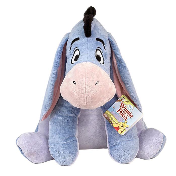 Мягкая игрушка Disney Ушастик, 61 см1100053Очаровательная мягкая игрушка Ушастик, выполненная в виде героя популярного мультфильма Винни Пух и его друзья, вызовет умиление и улыбку у каждого, кто ее увидит. Она станет замечательным подарком, как ребенку, так и взрослому. Необычайно мягкая, она принесет радость и подарит своему обладателю мгновения нежных объятий и приятных воспоминаний. Игрушка Ушастик выполнена из высококачественных текстильных материалов и гипоаллергенного синтепона. Мягкая игрушка может стать милым подарком, а может быть и лучшим другом на все времена. Предлагаемые нами игрушки представляют собой образец великолепного дизайна. Компания Disney сама занимается дизайном и предъявляет большие требования к качеству продукции: все плюшевые герои соответствуют своим мультяшным прототипам, а самое главное - производятся в соответствии с мировыми стандартами качества и соответствуют российским требованиям безопасности.