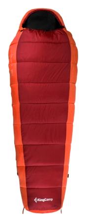Мешок спальный KingCamp Desert 250 KS 3104, правосторонняя молния, цвет: красный, 215 см х 80 смУТ-000050414Спальник-кокон KingCamp Desert 250 KS 3104 - незаменимая вещь для любителей уюта и комфорта во время активного отдыха. Спальный мешок закрывается на двустороннюю застежку-молнию. Этот теплый спальный мешок-кокон спасет вас от холода во время туристического похода, поездки на рыбалку. Спальный мешок упакован в удобный нейлоновый чехол для переноски. Наполнитель: WarmLoft (Hollowfibre), 250 г/м2. Внешний материал: нейлон 210T нейлон Ripstop, легкий, износостойкий. Внутренний материал: полиэстер 65%, хлопок 35%.