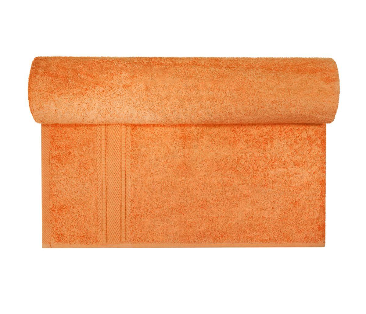Полотенце махровое Osborn Textile, цвет: оранжевый, 70 х 140 смУзТ-МПБ-004-02-27В состав полотенца Osborn Textile входит только натуральное волокно - хлопок. Лаконичные бордюры подойдут для любого интерьера ванной комнаты. Полотенце прекрасно впитывает влагу и быстро сохнет. При соблюдении рекомендаций по уходу не линяет и не теряет форму даже после многократных стирок. Плотность: 450 г/м2.