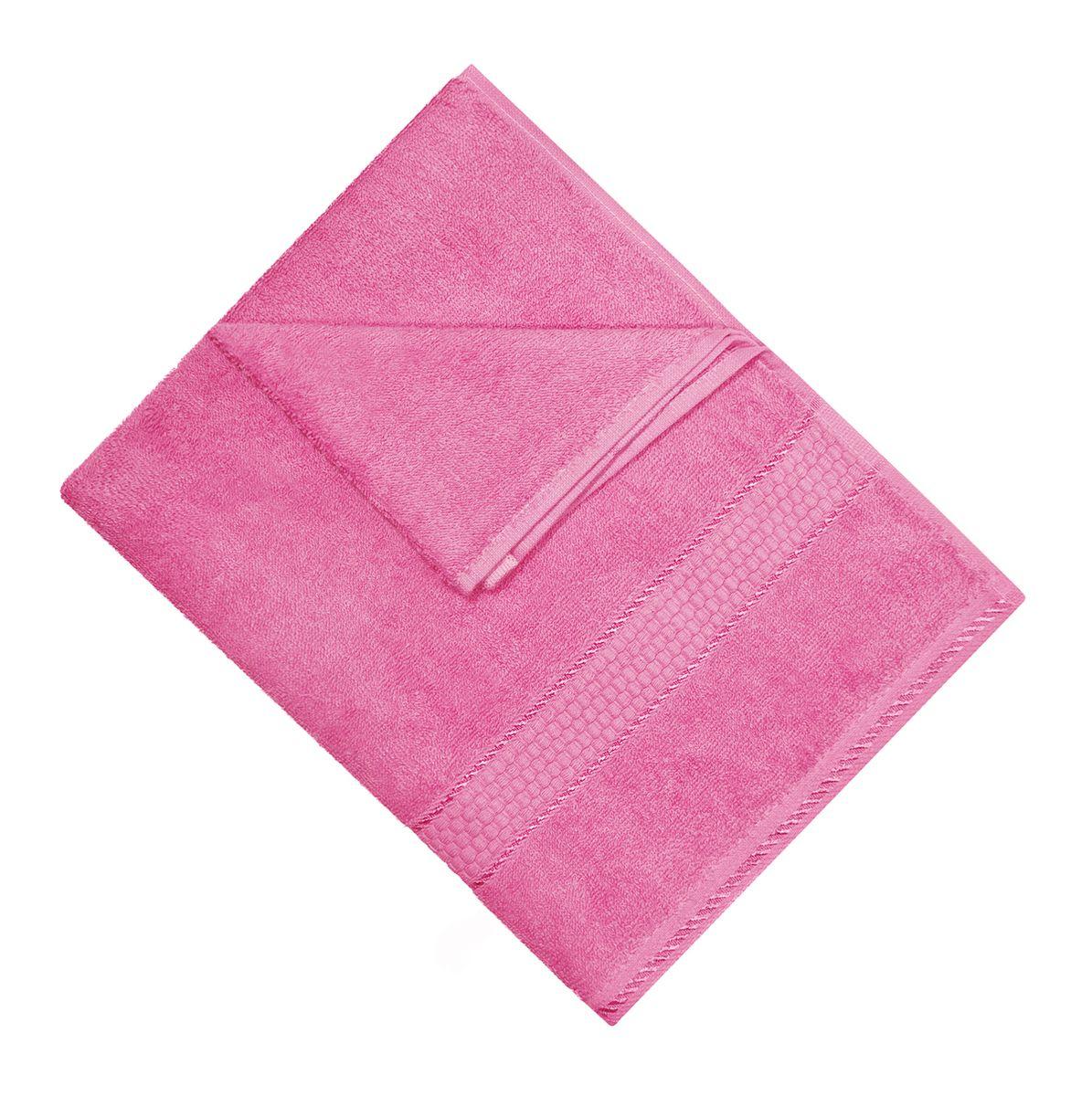 Полотенце махровое Osborn Textile, цвет: розовый, 50 х 90 смУзТ-МПМ-004-01-04В состав полотенца Osborn Textile входит только натуральное волокно - хлопок. Лаконичные бордюры подойдут для любого интерьера ванной комнаты. Полотенце прекрасно впитывает влагу и быстро сохнет. При соблюдении рекомендаций по уходу не линяет и не теряет форму даже после многократных стирок. Плотность: 450 г/м2.