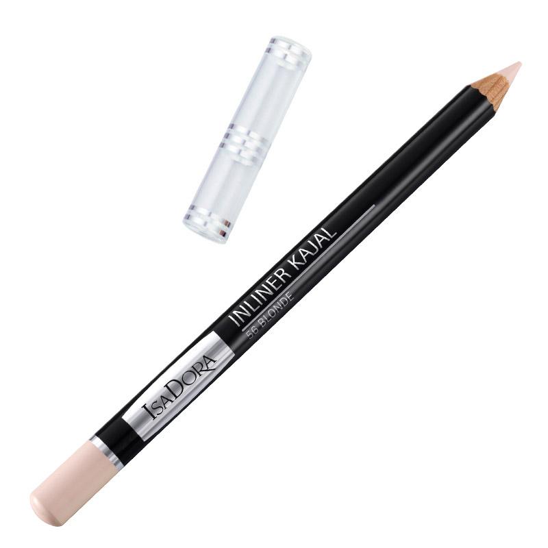 Контурный карандаш для глаз Isa Dora Inliner Kajal, тон №56, цвет: блонд, 1,3 г113856Контурный карандаш для глаз Isa Dora Inliner Kajal обладает специальной мягкой формулой, которая обеспечивает легкое точное нанесение. Карандаш легко растушевывается, стойкий и влагоустойчивый. Характеристики: Вес: 1,3 г. Тон: №56 (блонд). Длина карандаша: 12 см. Производитель: Швеция. Артикул: 1138. Товар сертифицирован.
