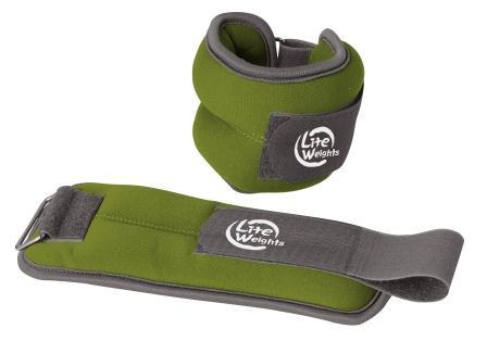 Утяжелители Lite Weights для рук и ног, цвет: зеленый, 2 шт х 0,5 кг5868WCБезразмерные утяжелители Lite Weights легко фиксируются при помощи крепежного ремешка на липучке. Они изготовлены из нейлона и наполнены металлической стружкой. Идеальны в использовании при беге трусцой, занятиях аэробикой, оздоровительной гимнастикой и фитнесом. Мягкий материал надежно облегает, давая вместе с тем ощущение свободы рукам - у вас отпадает необходимость держать гантели или гири для создания усилий во время тренировок. Утяжелители имеют компактный размер и не займут много места при хранении и переноске. Удобный современный дизайн, приятное цветовое оформление и качество самих утяжелителей будут несомненно радовать вас во время тренировок! Вес каждого утяжелителя: 0,5 кг. Длина утяжелителя: 24 см. Ширина утяжелителя: 9 см. Толщина утяжелителя: 2,8 см.