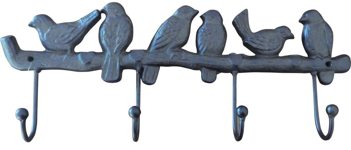 Вешалка ПтицыGS-129132Вешалки и крючки, изготовленные из чугуна, красивые и практичные в повседневной жизни вещи. Крепкие и надежные чугунные крючки прослужат долгие-долгие годы.