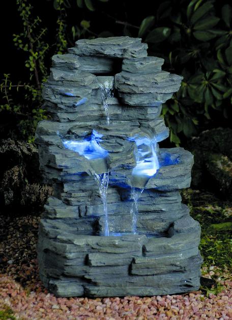 Фонтан садовый декоративный Водопад 37*30.5*54