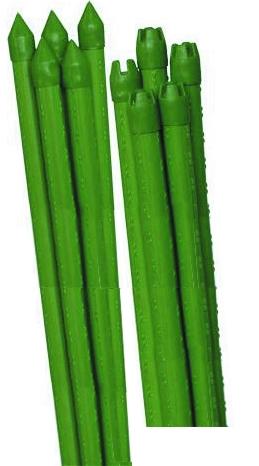 Опора для растений Green Apple Бамбук, цвет: зеленый, диаметр 0,8 см, длина 90 см, 5 штGCSB-8-90Опора для растений Green Apple Бамбук выполнена из высококачественного металла, покрытого цветным пластиком. В наборе 5 опор, выполненных в виде стеблей бамбука. Такие опоры широко используются для поддержки декоративных садовых и комнатных растений. Также могут применяться для поддержки вьющихся растений в парниках. Диаметр опоры: 0,8 см. Комплектация: 5 шт.