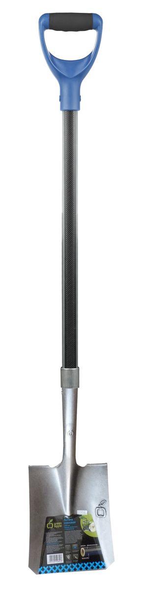 """Лопата совковая """"Green Apple"""", с черенком из фибергласса, 120 см GALC6-073"""