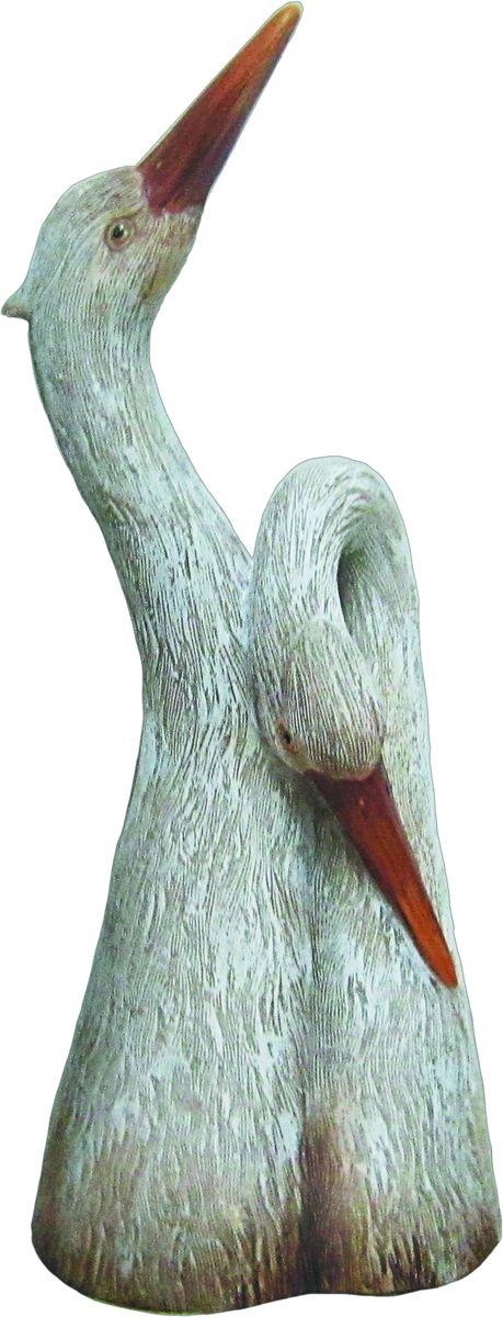 Фигурка садовая Аисты 14 см х 9 см х 34 см
