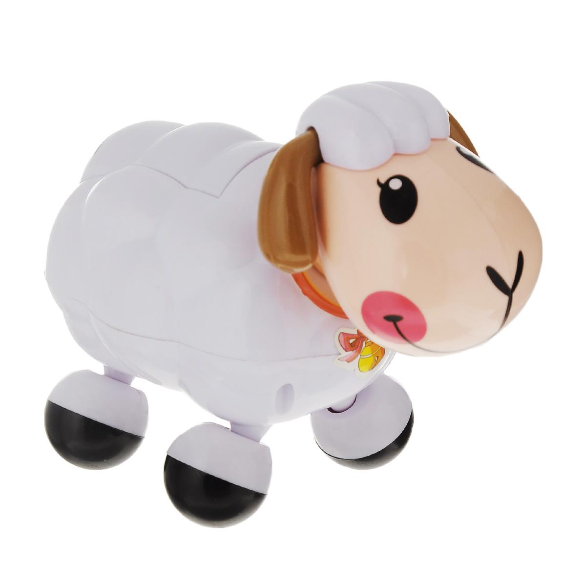 Электронная развивающая игрушка Веселая овечка, цвет: белый231белыйТакие игрушки не только развлекают малышей, но и развивают двигательную активность. За такой игрушкой дети с удовольствием будут двигаться, становясь более ловкими, сильными и быстрыми. А веселая мелодия будет служить отличным аккомпанементом в их подвижных играх. Порадуйте ребенка таким замечательным подарком! Игрушка работает от 2 батареек типа АА (товар комплектуется демонстрационными).