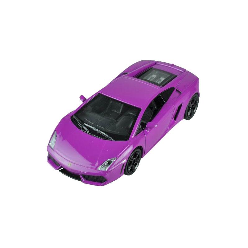 Maxi Toys Модель автомобиля LamborghiniCP-68329-PМашинка металлическая инерционная. Функции : инерционный двигатель; открывание дверей (опционально капот/багажник); звук; свет.