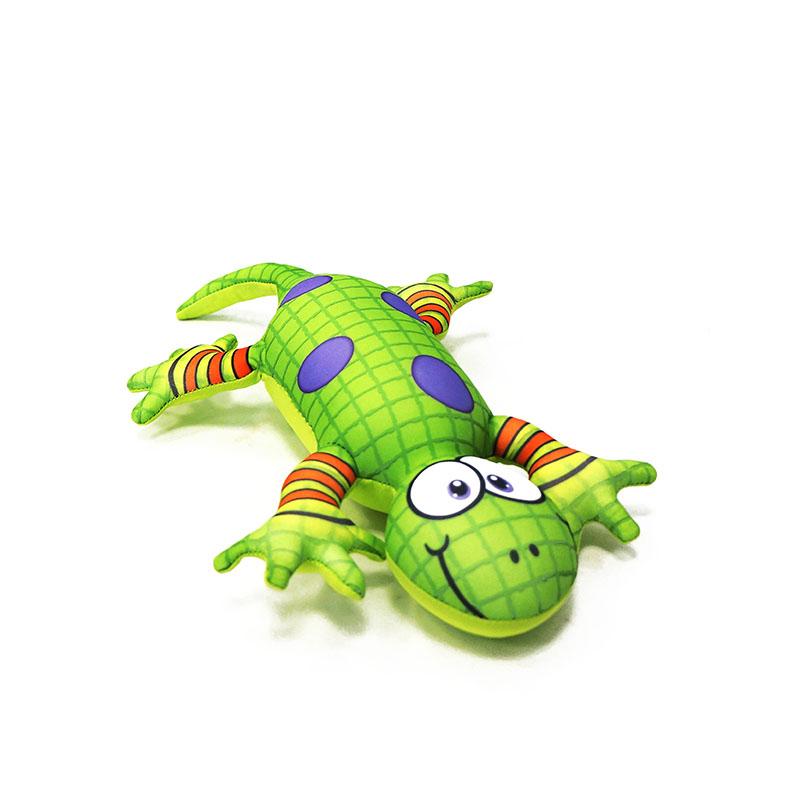 MAXITOYS ЯщерицаMT-D041404Яркая игрушка-антистресс Ящерица, выполненная в виде забавной зеленой ящерицы с фиолетовыми пятнышками и полосатыми лапками, привлечет внимание каждого и станет отличным подарком.