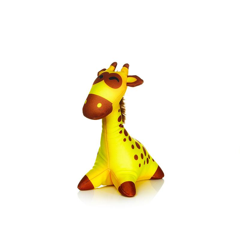 MAXITOYS Жираф Граф 21 СмMT-D091276Главное достоинство игрушки-это осязательный массаж, приятный, полезный и антидепрессивный. Внешний материал-гладкий, эластичный и прочный трикотаж. Наполнитель: гранулы полистирола-крохотные шарики диаметром меньше миллиметра. Срок службы не огранич
