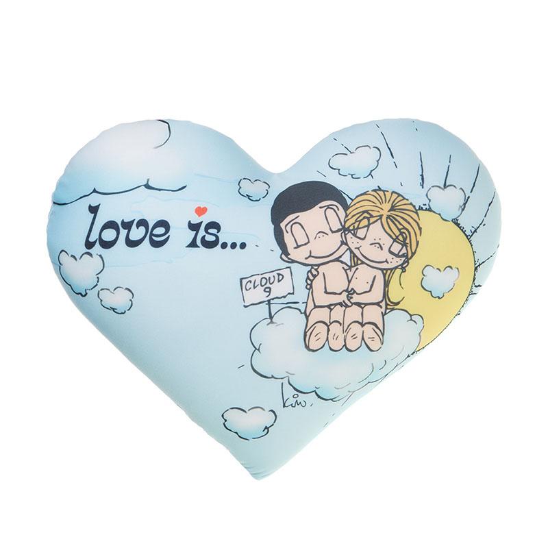 MAXITOYS Подушка-Сердце Love Is...MT-H091406
