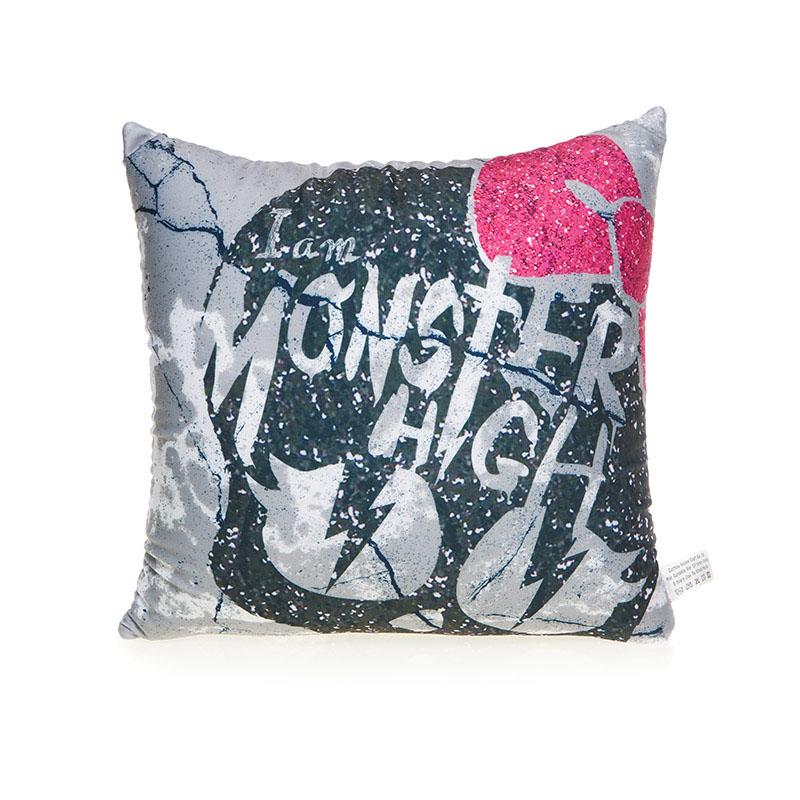 MAXITOYS Подушка Monster HighMT-H091418Подушка изготовлена по официальной лицензии Monster High.Подушка будет отличным дополнением к вашей коллекции кукол Monster High. Состав: 100% полиэстер, наполнитель: гранулы вспененного полистерола.