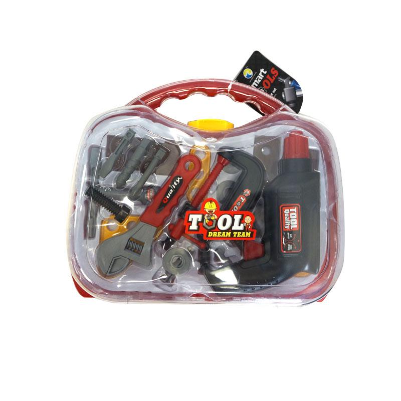 MAXITOYS Игровой Набор Инструментов С Дрелью В Кейсе (Большой)MT-HWA628981Игровой набор - предмет бытового обихода из пластмассы, в т.ч. без механизмов, механический, электромеханический, в т.ч. с питанием от химических источников тока, со световым и звуковыми эффектами, в т.ч. в наборах. Для игровых целей.