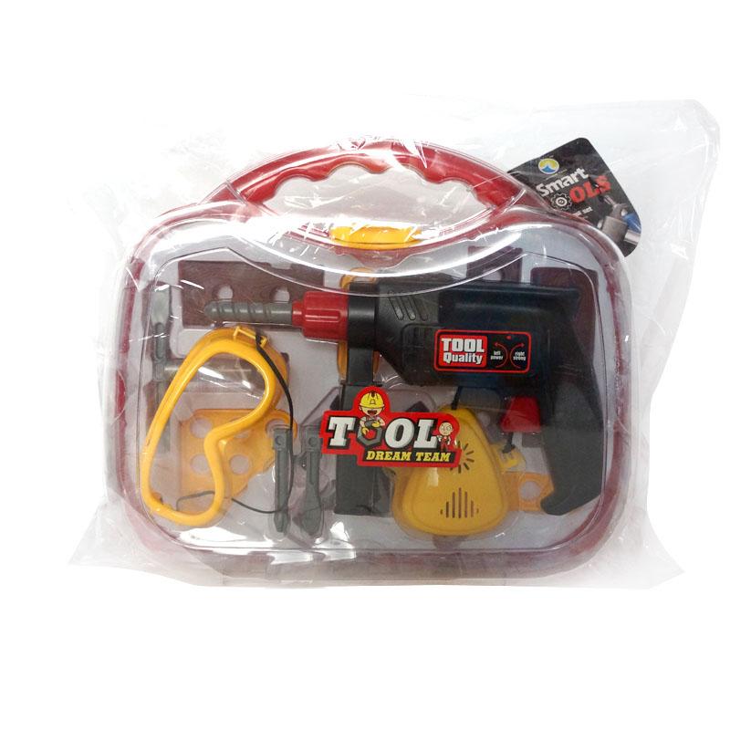 MAXITOYS Игровой Набор Инструментов С Дрелью В КейсеMT-HWA649280Игровой набор - предмет бытового обихода из пластмассы, в т.ч. без механизмов, механический, электромеханический, в т.ч. с питанием от химических источников тока, со световым и звуковыми эффектами, в т.ч. в наборах. Для игровых целей