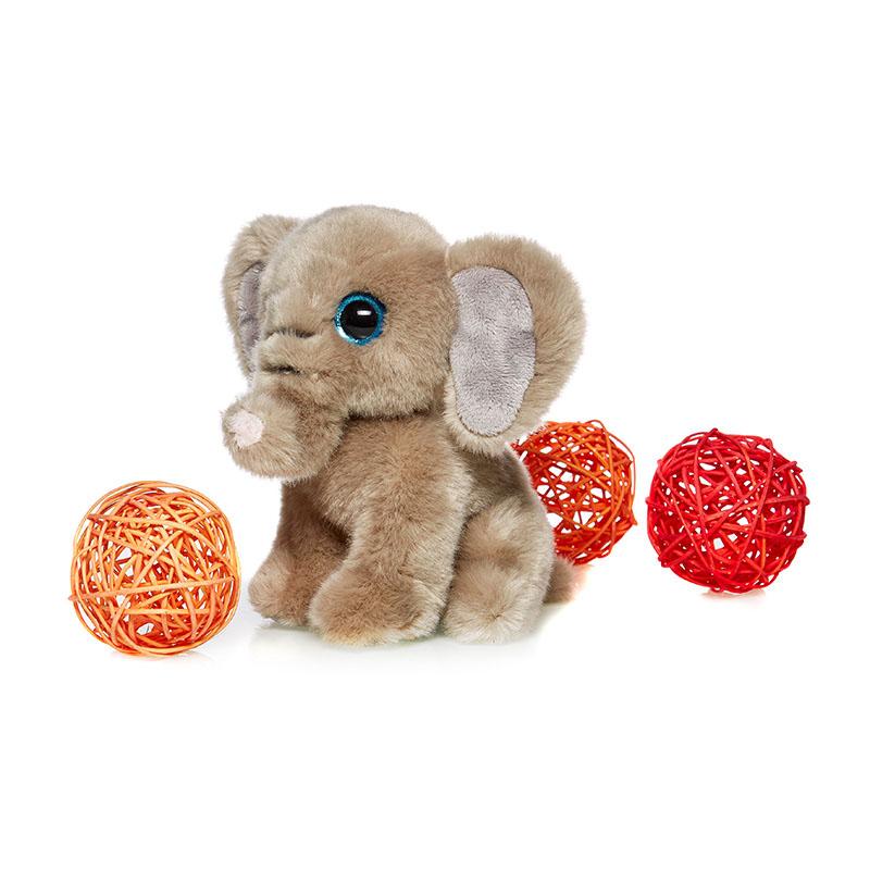 MAXITOYS СлоненокMT-TSC091408-18Игрушка детская мягконабивная. Выполнена в форме различных животных и сказочных персонажей. Состав: Мех искусственный, трикотажный, волокно полиэфирное, фурнитура из пластмассы. Срок службы 5 лет.