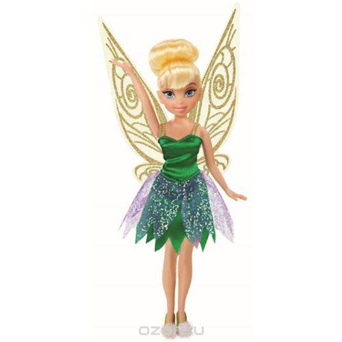 Disney Fairies Кукла Tink цвет платья зеленый762730_TinkФеи Disney - сказочные героини, которые живут в гармонии с природой, их жизнь полна захватывающих приключений и интересных открытий. Tink - фея, созданная по мотивам диснеевского мультфильма Феи: Легенда о чудовище. Фея одета в нарядное зеленое платье, на ножках - балетки с помпонами. Образ дополняют крылышки за спиной. У куклы подвижные ручки, ножки, голова. Кукла Disney Fairies Tink непременно станет хорошим подарком вашему ребенку и подарит ему приятные воспоминания.