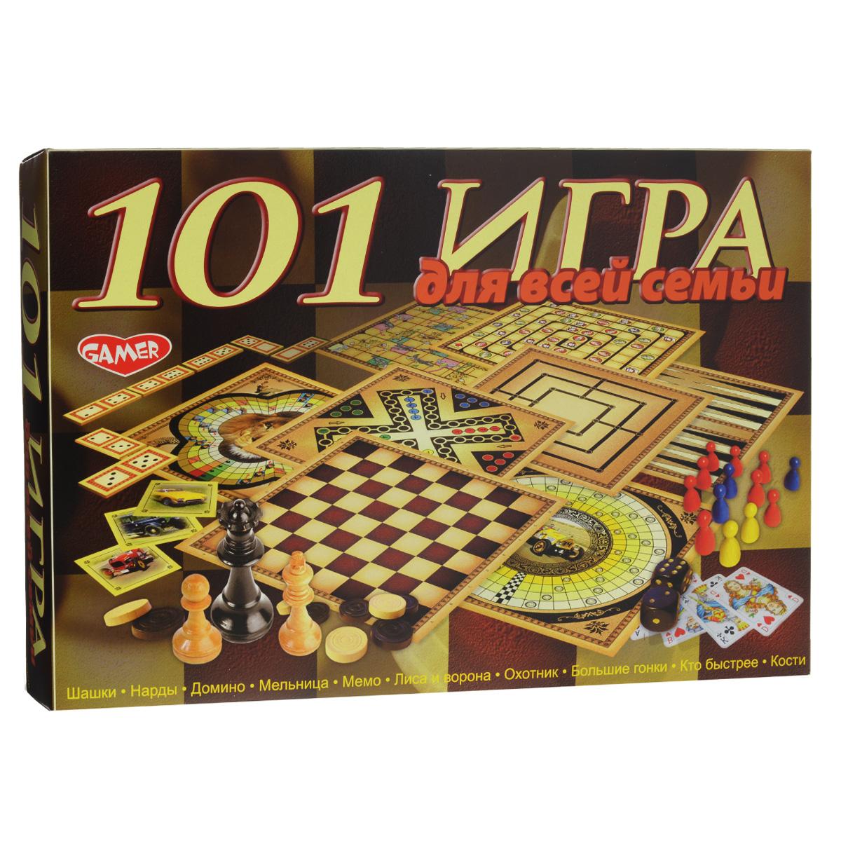 Настольная игра Dream Makers 101 игра для всей семьи, 101 в 1