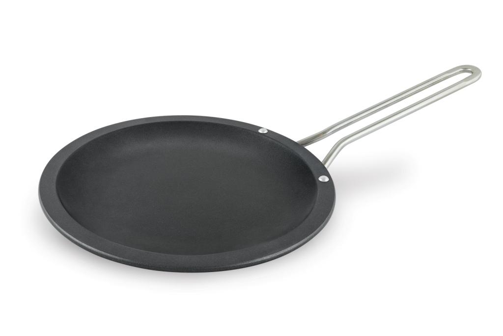 Сковорода 30 ПР литая блинная (полимер-керам.) металлическая ручка Нева Металл Посуда(10)9530Сковорода 30 ПР литая блинная (полимер-керам.) металлическая ручка Нева-Металл посуда(10) Материал: литой алюминий